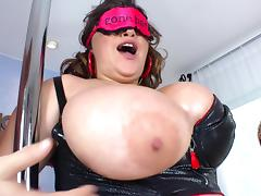 Magnificent bbw with huge tits enjoys getting drilled hardcore