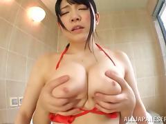 Japanese, Asian, Bath, Big Tits, Boobs, Couple