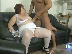 Granny, Granny, Lingerie, Mature, Muscle, Old