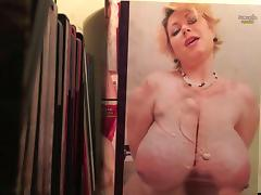 Samantha 38G cum tribute