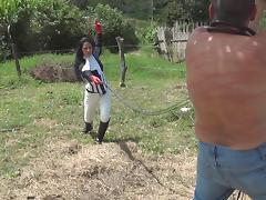 Cruel Barn Mistresses 7 Bullwhipping