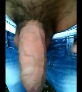 All bigger than big cocks stroking and cumming comp