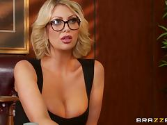 Office, Babe, Big Tits, Blowjob, Boss, Doggystyle