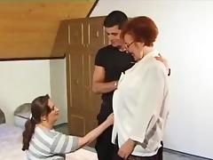 Granny, Fucking, German, Granny, Mature, MILF