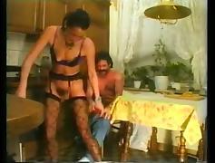 Vintage German, Anal, Couple, German, Hardcore, Stockings