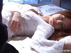 Sleeping, Asian, Fucking, Hardcore, Japanese, MMF