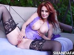 Hot Canadian MILF Shanda Fay Fucked Outdoors!