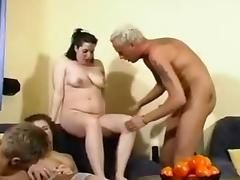 Groupsex with two german pregnants
