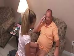 Daddy, Blowjob, Penis, Small Tits, Teen, Old and Young