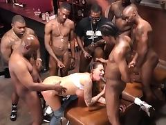 Juelz Ventura Gets Her Holes Filled With Black Cock