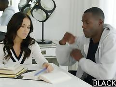 Megan Rains First Experience With Big Black Cock Part 1