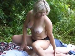 Mom and Boy, Amateur, Big Tits, Couple, Hardcore, Mature