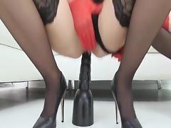 Lesbian, Fingering, Lesbian, Stockings