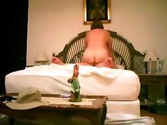 Real homemade non-professional blowjob spying in hotel