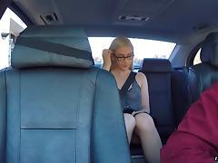 Car, Bitch, Blonde, Blowjob, Car, Couple