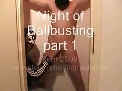 Night of ballbusting part 1