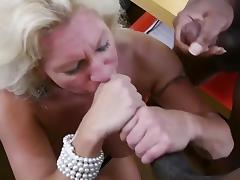 Blonde mature get junior gay fuck