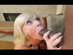 Blonde mature takes BBC