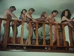 Retro Orgy with Christoper Clark