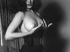 BE-BOP BRUNETTE - vintage striptease latino 50s 60s
