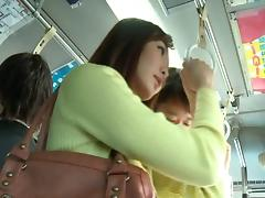 Bus, Asian, Banging, Bus, Compilation, Gangbang