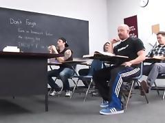 CLASS ROOM GANGBANG
