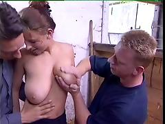 German, German, Outdoor, French BBW, French Big Tits