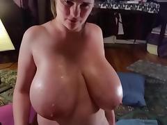 Titty Fuck w Cum!