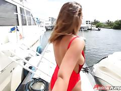 Boat, Big Tits, Blowjob, Boat, Couple, Cowgirl