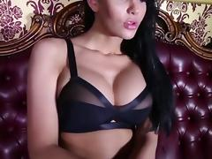 Raven Haired Beauty and Her Masked Hunk (HD)