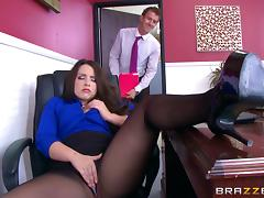 Office, Ass, Couple, Hardcore, Nylon, Office
