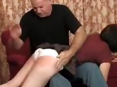 Spanked till she Cry
