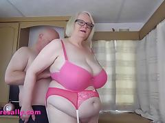 Obese, BBW, Chubby, Chunky, Fat, Big Natural Tits
