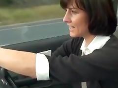 Car, Car, Fingering, Masturbation, Mature, MILF