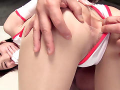 Tokyo, Asian, College, Creampie, Japanese, Redhead