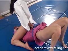 Nude Erotic Wrestling Videos on Academy Wrestling