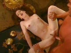 Crazy pornstar Gwen Summers in hottest small tits, cunnilingus adult movie