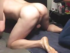 GF stretching my fuck hole with two fists