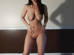 Christina dance and strip