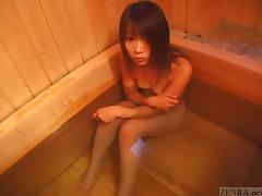 Bathroom, Asian, Bath, Bathing, Bathroom, Fingering