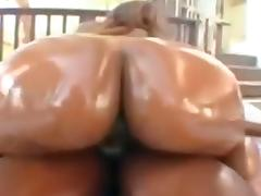 Ebony bbw with big black nipples sucking and fucking