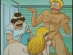 Anime, Anime, Babe, Big Tits, Blowjob, Brunette