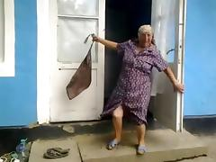 Mature, Granny, Mature, Old, Romanian, Grandma