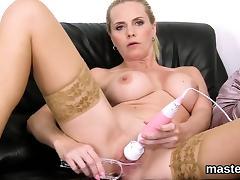 Blonde, Blonde, Cunt, Fingering, Masturbation, MILF