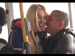 Bus, Amateur, Bus, Outdoor, Public, Sex