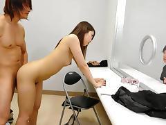 Hikaru Matsu in Lawyer Hikaru Matsu masturbates and fucks for her client - AviDolz