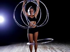 Sexy hula hoop dancers compilation