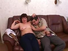 Russian mom Zeny with her boy 2