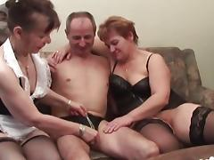 4some, Ffm, Granny, Group, Mature, Naughty