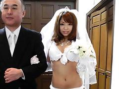 Bride, Amateur, Asian, Bride, Japanese, Wedding